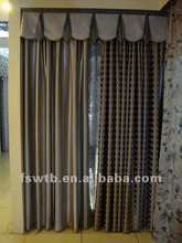 2012 Hot sell black out polyester curtain,colorful fabric!
