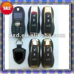 mobile phone 2012 new designer/car,s key mobile/car bar mobile phone/camera support