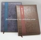 PU soft cover Notebook and any logo embossed