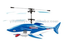 Nice 3.5ch mini flying shark helicopter with gyro / new producs in 2012