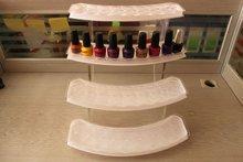 LNG-128B Acrylic 72pcs nail polish display, 4-tiers nail polish stand