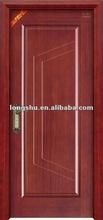 High-end Wooden Door Designs with lines for bedroom