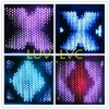 animation effect fireproof led star cloth