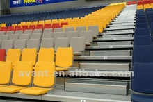 Avant fire-protection automatic telescopic stadium chair,indoor/arena system, tribune,grandstand,bleachers for multi-purpose use