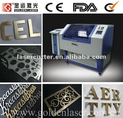 Small Metal Name Cutting Machine with Laser