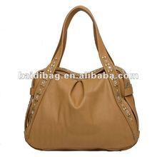 Leather bag tote bag 2012(coffee)