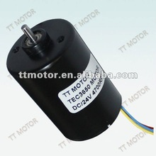540 motor of 24v dc brushless motor with 36mm planeary gearbox