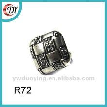 rhinestone alloy rings R72