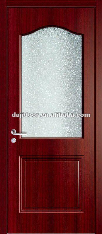 Melamina moderna puertas de vidrio esmerilado dj p063 dise o - Puertas de melamina ...