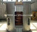 Horno fusorio de la inducción de cobre y de cobre amarillo