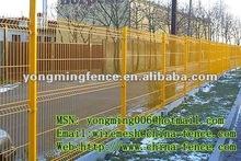 Meilleures ventes durable blanc couleur PVC 3D intérieure de sécurité clôture / direct fabricant