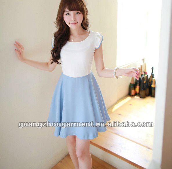 Popular Korean Women Casual Dress  EBay