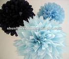 Online order best population wedding decoration paper flowers