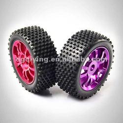 1/8 rc car alloy wheels rim rc four wheel drive car