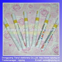 Paint pen repair pen clear coat