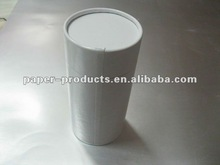2012 hot sell custom white paper cardboard cylinder wine gift box made in China
