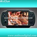 jeux tenus dans la main numériques du joueur mp6 de 5 pouces avec le rendement de TV