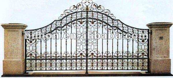 Entrance Gate Design Iron entrance gates house