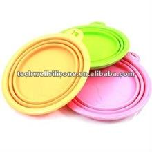 KLB-014 foldable silicone dog bowl