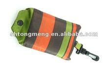 Strip pattern foldable reusable eco-friendly shopping bag handbag New