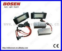 New LP-Q5N no error LED licence plate light for AUDI A4 B8