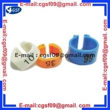 2012 Plastic promotion pigeon pets rings bird leg ring pigeon ring