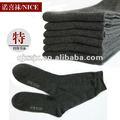 chaussettes du coton des hommes, la chaussette des hommes de grande taille, la chaussette des grands hommes