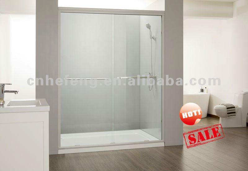 Puertas De Baño Puerto Ordaz:Baño Templado Puerta de cristal para QM-S010-Puertas de Ducha