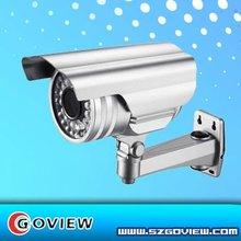 CCTV Weatherproof camera with 600TVL resolution and 0.1 lux illumination