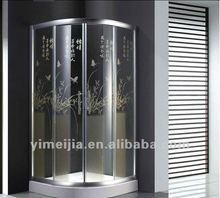Stereo printing bathroom shower room