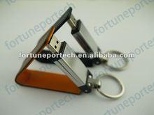 keychain leather usb in custom