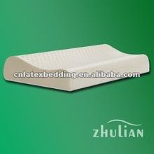 Curve latex pillow