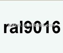White RAL9016 Epoxy Powder Coating