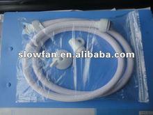 white nylon wire braided bidet shower hose