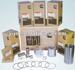 Cylinder liner kit for excavator