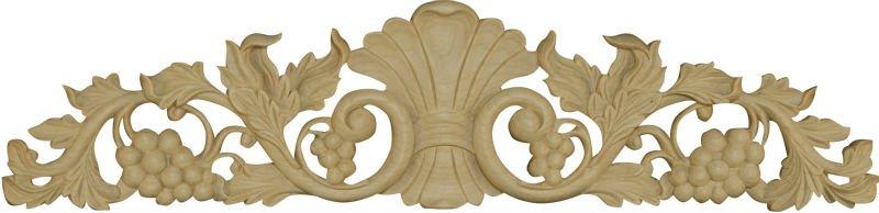 Bela madeira maciça antigo mão esculpida madeira applique e escultura em madeira
