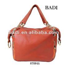 BADI luxurious rose leather handbag