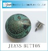 custom jeans button