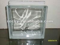 hot-selling Rocky decorative glass block/brick