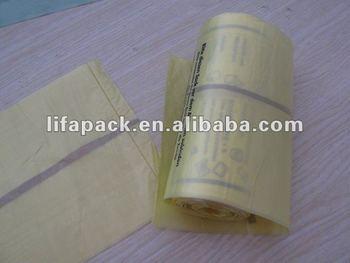 Eco-friendly fragranced plastic drawstring/draw tape garbage bag