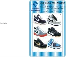Zapatos de transporte gratuito de China de extremo a extremo de Santa tomas de castilla