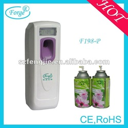 LCD operated air freshener for hotel