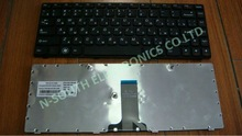 Russian Laptop keyboards Notebook parts For LENOVO G470 RU Black
