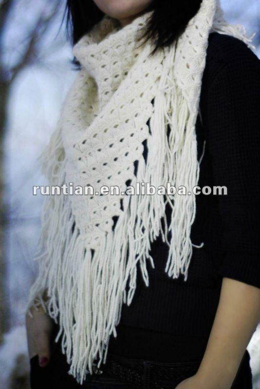 New Fashion Elegant And Warm Crochet Shawl 2012 - Buy ...