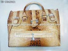 2012 newest crocodile PU leather handbag
