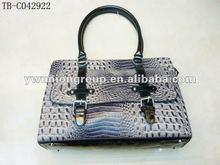 2012 newest crocodile leather handbag