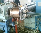 PE micro duct extruder machine