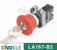 waterproof emergency stop push button reset key switch,grade A B2-BS142