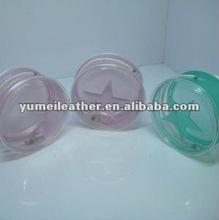 2012 hot sale high quality transparent white pvc bag