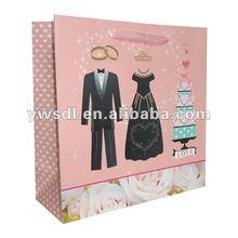 2012 New arriveal wedding gift paper bag